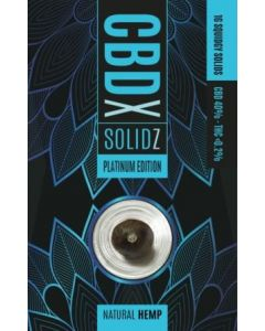 CBDX Platinum Edition Solidz
