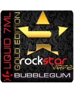 Rock Star Vape Liquid Bubblegum